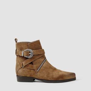ALLSAINTS 'Tejus' Buckle Ankle Boot